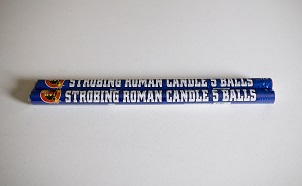 STROBING ROMAN CANDLE 2 PACK