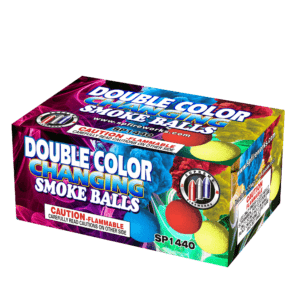 COLOR CHANGING SMOKE BALLS (6 PACK )