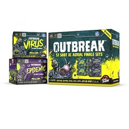 OUTBREAK 51 SHOT ( SET OF TWO 25 SHOT & 26 SHOT EACH )