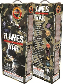 "FLAMES OF WAR 60 GM 5"" 24 PACK"
