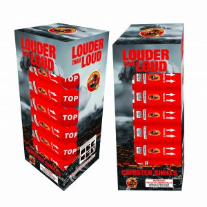 "LOUDER THEN LOUD 60 GM 5"" SHELLS 6 PACK NEW 2020"