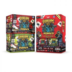 SUICIDE KINGS 60'S FINALE SET OF 2 30'S EACH NEW 2020